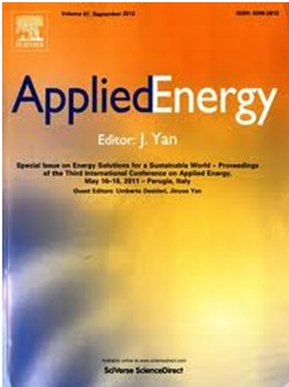 Impact factor applied energy journal